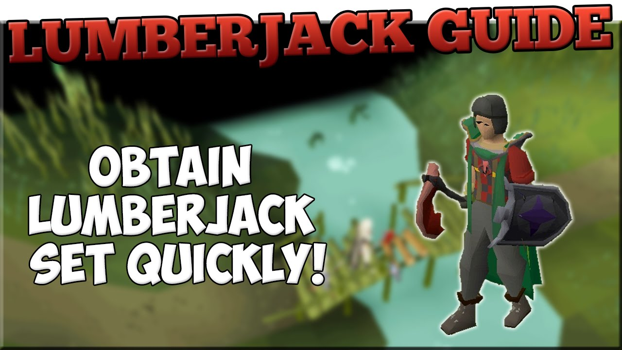 how to get lumberjack outfit osrs