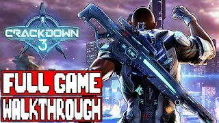 CRACKDOWN 3 Gameplay Walkthrough Part 1 Full Game - No Commentary