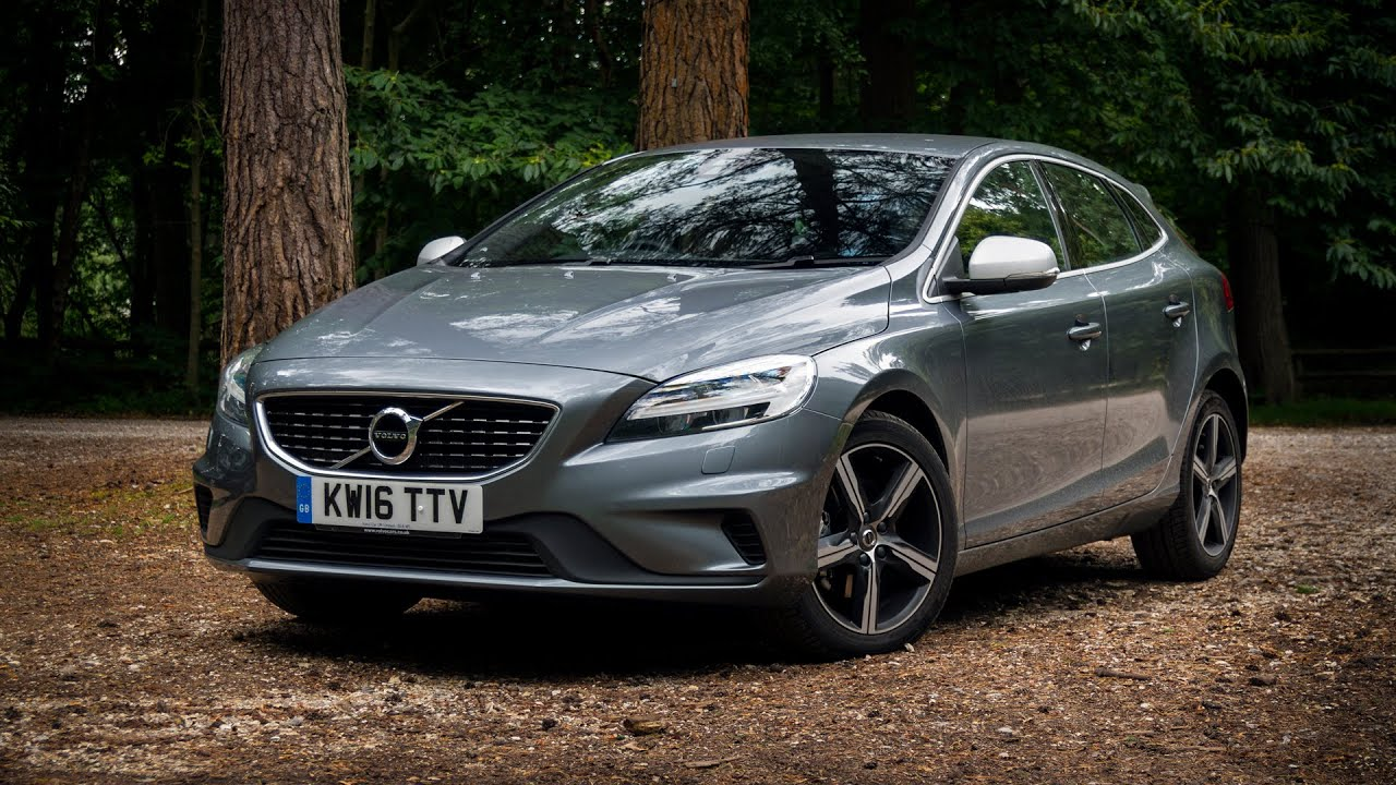 2016 volvo v40 t3 r design review youtube. Black Bedroom Furniture Sets. Home Design Ideas