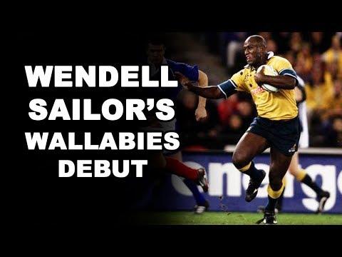 Wendell Sailor's Wallabies Debut