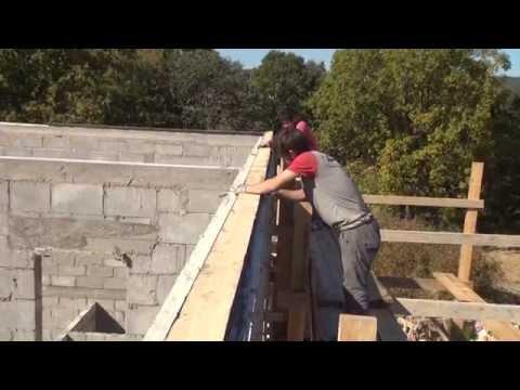 видео: Крыша установка маурлата