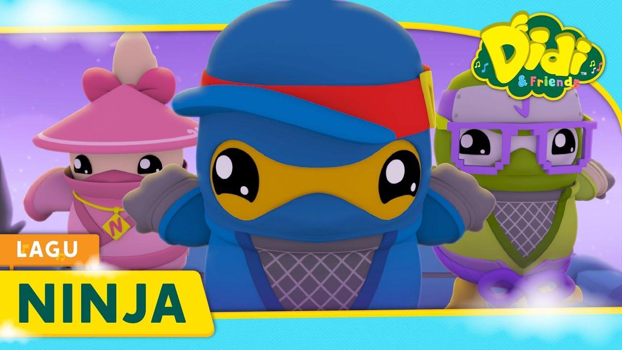 Ninja Didi Lagu Baru Didi Friends Lagu Kanak Kanak Youtube