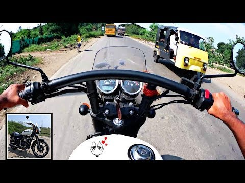 royal enfield thunderbird 350X spied images and its