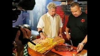 Diners Drive Ins and Dives Local Legends  Leo's BBQ Oklahoma City