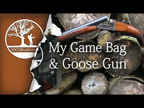 Bushcraft Shooting Gear: My Game Bag Haversack