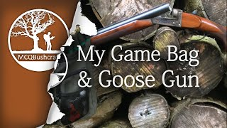 MCQBushcraft Shooting Gear: My Game Bag Haversack