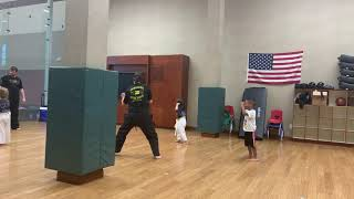 Fun game in martial arts class 6.12.19