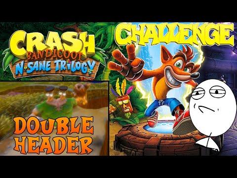 Let's Challenge Crash Bandicoot N. Sane Trilogy (Double Header): Platin-Relikt | 0:59:31