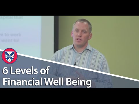 COACHING TIP: The 6 Levels of Financial Well Being
