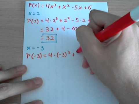 Valor Numérico De Polinomios Youtube