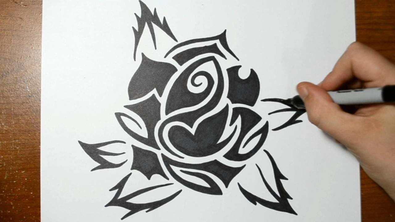 Cool Tribal Art To Draw