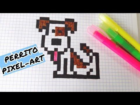 Draw Handmade Pixel Art Como Dibujar Un Perrito