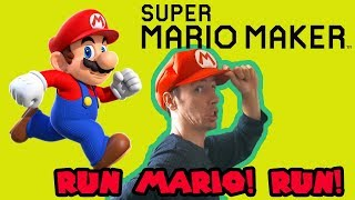 Mario Maker - Run Mario! Run! Awesome Speedrun Levels