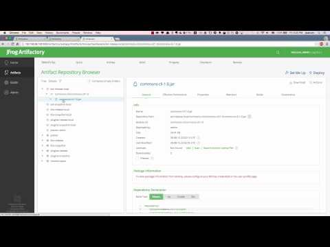 Screencast] Artifactory 4 Repositories Replication - YouTube