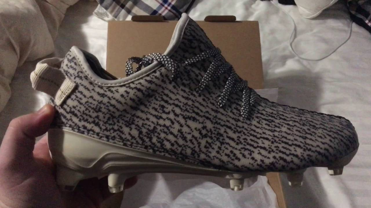 40851c948 Yeezy 350 Cleat Unboxing First Look - YouTube