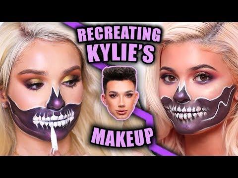 Recreating KYLIE JENNER'S Halloween Makeup!