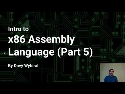 Intro to x86 Assembly Language (Part 5)
