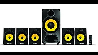 Philips SPA3800/B Home Theater 5.1 Unboxing with Full Review and Sound Testing