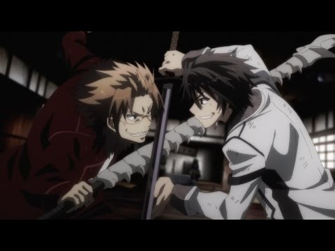 Rakudai Kishi no Cavalry - Ikki vs Sword Eater - Fight scene
