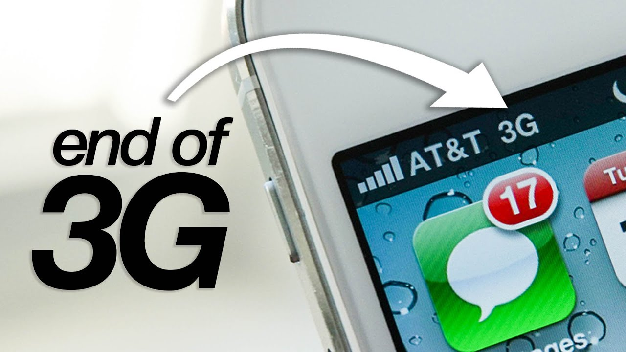 Download the 3G network is shutting down - what to expect!