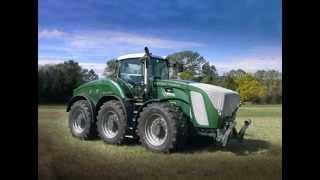 Największe ciągniki rolnicze świata.