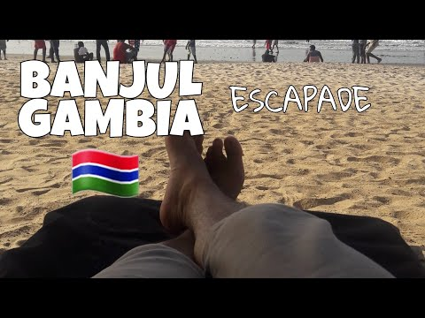 Waka Waka! It's Time For Africa! Banjul, The Gambia Escapade
