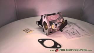 Carburateur de tracteur tondeuse pour moteur Tecumseh 640065A