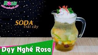 Soda Trái Cây mix hấp dẫn giới trẻ