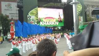 2 07.06 UEFA EURO 2012 Kharkov Открытие ФАН зоны Добкин и Кернес(NEW! http://www.youtube.com/watch?v=s86pUX0KDmg 15.06 UEFA EURO 2012 Kharkov cool dances Dutchmen and super Tits ..., 2012-06-08T09:56:20.000Z)