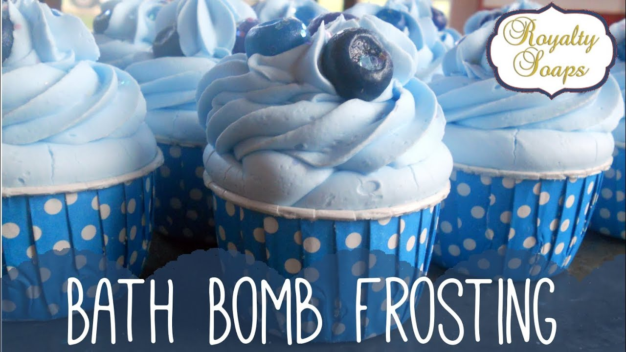 Tutorial Bath Cupcake Frosting Royalty Soaps Youtube