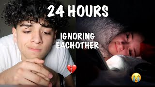IGNORING EACHOTHER FOR 24 HOURS | long distance relationship