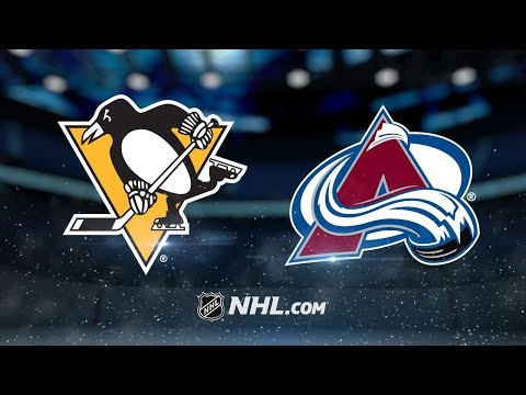 Barrie, Varlamov lift Avalanche past Penguins, 4-2