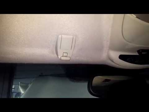 How to change replace your mercedes benz sl 107 sun v for Mercedes benz sun visor replacement