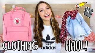 BACK TO SCHOOL CLOTHING HAUL 2018!! Sydney Serena