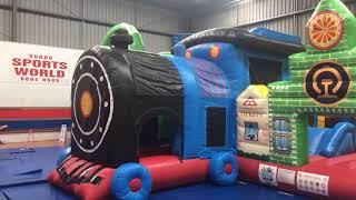 Travel Australia with Kids - Inflatable World - Dubbo, NSW