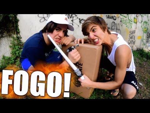 ESPADA DE FOGO?!?!?! - DEU ERRADO (UNBOXING ALFA #6)