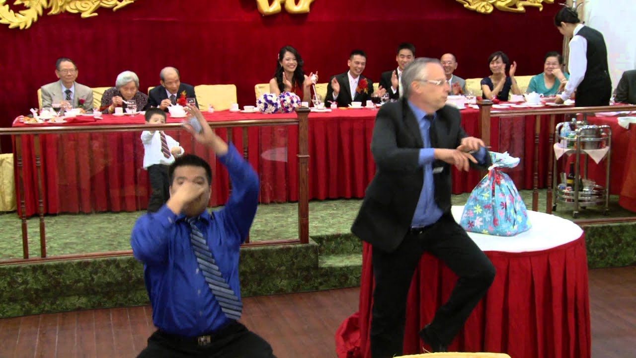 A Funny And Cute Wedding Reception At Mong Kok Chinese Restaurant Markham