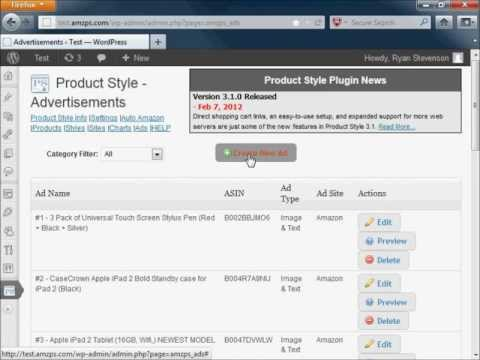 PayPal Payment Link Ad Example - Custom HTML WordPress Ads