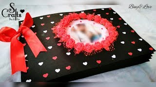 Scrapbook 🌹 | Handmade | S Crafts | Handmade gift ideas | for her | for him | Anniversary scrapbook