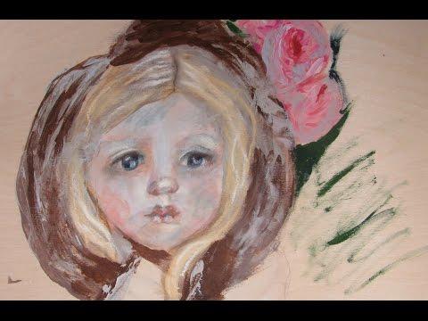Painting Impressionist Style  Study of Mary Cassatt  #IC Women's History Hop