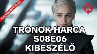Itt a vége! - Trónok harca S08E06 kibeszélő + NYEREMÉNYJÁTÉK