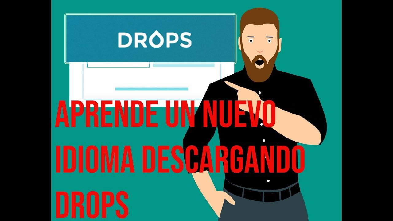 APRENDE 31 IDIOMAS CON DROPS   DESCARGA DROPS APP LANGUAGE   ANDROID - IOS