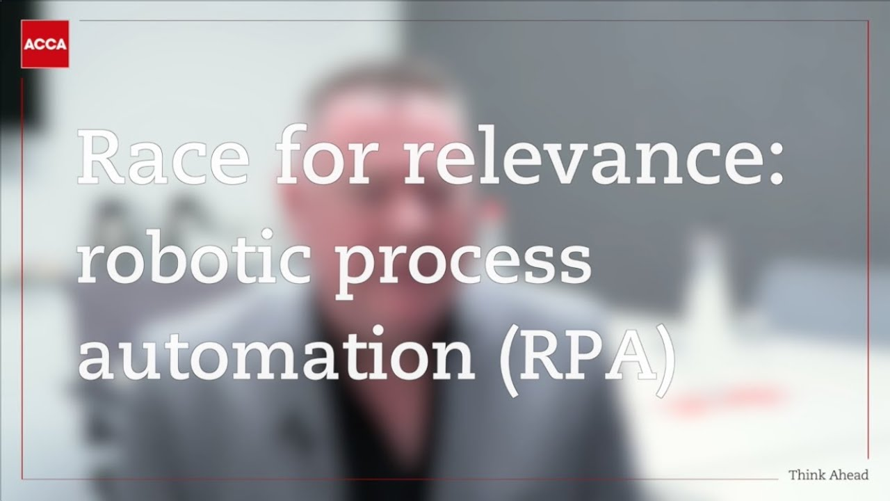 Robotic Process Automation in finance | ACCA Global
