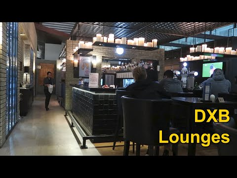 Checking Out Dubai Airport Lounges - Priority Pass