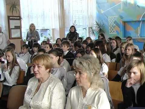 Виступ директора школи С.М. Михалини