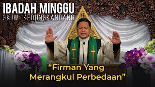 Ibadah Minggu GKJW Kedungkandang, 27 September 2020