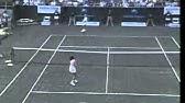 1987ウインブルドン 岡本久美子対ゴレス - YouTube
