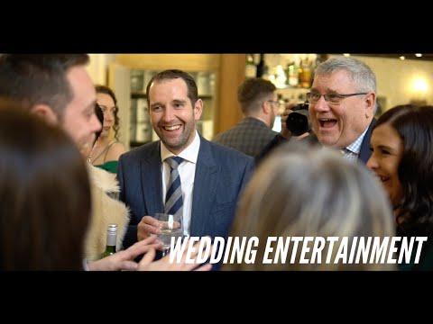 Wedding Magician - Rushden Hall - Wedding Entertainment | Jamie Docherty Magician