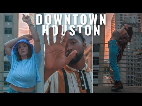 DOWNTOWN HOUSTON, TX PHOTOSHOOT | come explore & shoot w/ me 📸