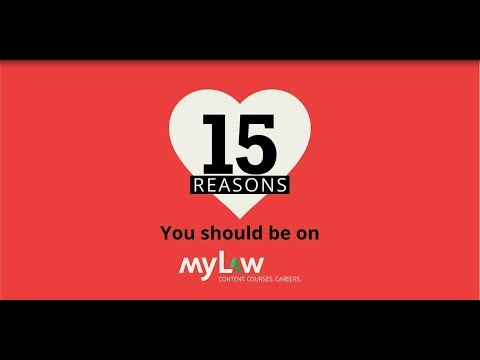15 Reasons Why You Should Be On MyLaw - The Platform Loved By Law Students & Legal Professionals